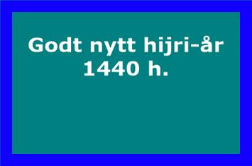 Godt nytt hijri-år